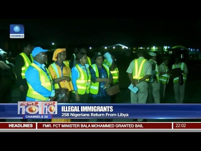 Illegal Immigrants: 258 Nigerians Return From Libya