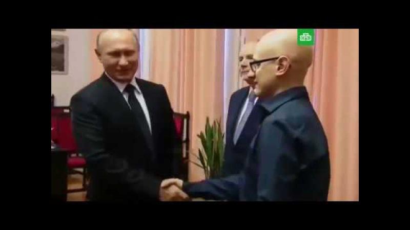Слепой студент сыграл Владимиру Путину на пианино