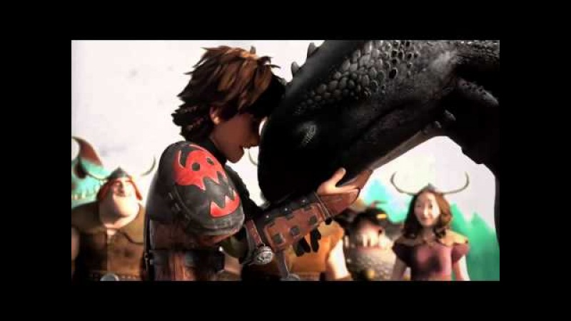 Httyd - Warriors imagin dragons (amv)