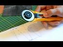 Как нарезать резину на рогатку Нарезка тяг трапецией