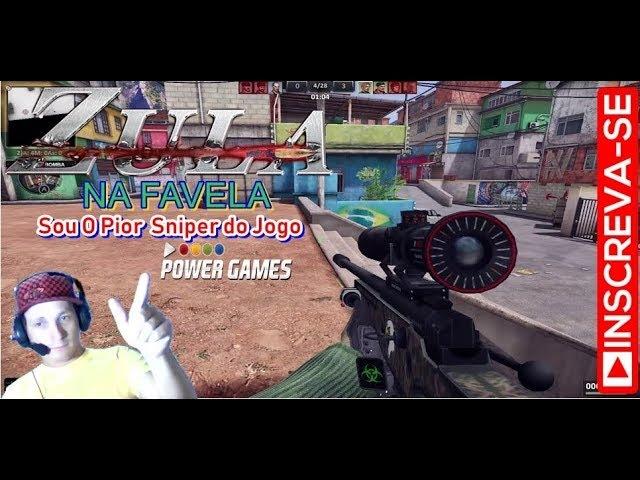 ZULA -Sou O Pior Sniper do Jogo