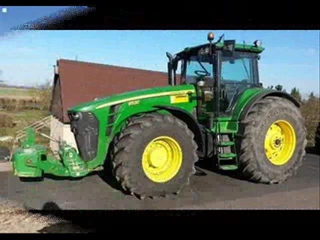 Прокати меня милый на тракторе