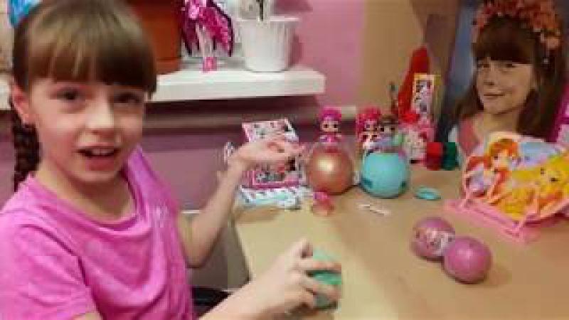 Шар LOL 2 серия оригинал и подделка Золотой шар сюрприз ЛОЛ Surprizamals LOL сестрички