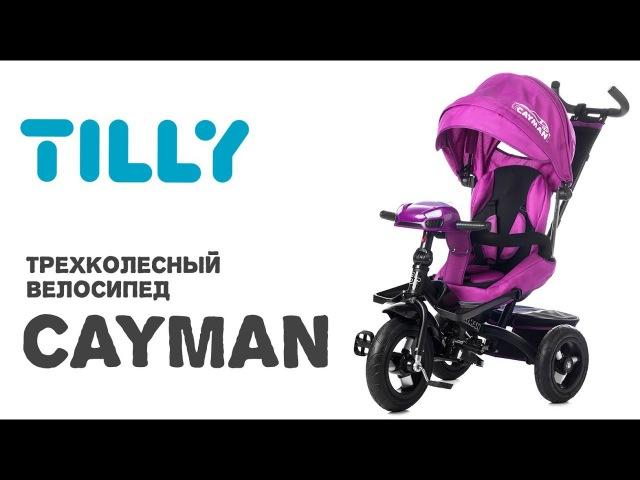 Велосипед трехколесный Tilly Cayman T-381 с пультом