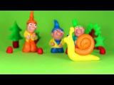 Улитка. Пластилиновый мультфильм с песенкой. Весёлая песня для детей