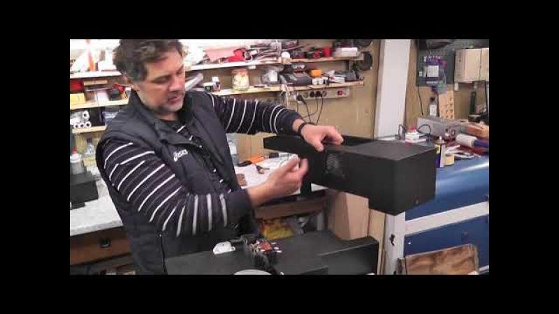УФ принтер из EPSON L800/805 (Часть 9) Принтер готов! (Конструкция корпуса и общий вид.)