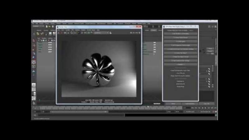 Maya Real Studio 2. Студийная визуализация. » Freewka.com - Смотреть онлайн в хорощем качестве