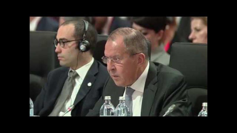 Выступление С В Лаврова на 24 м заседании СМИД ОБСЕ