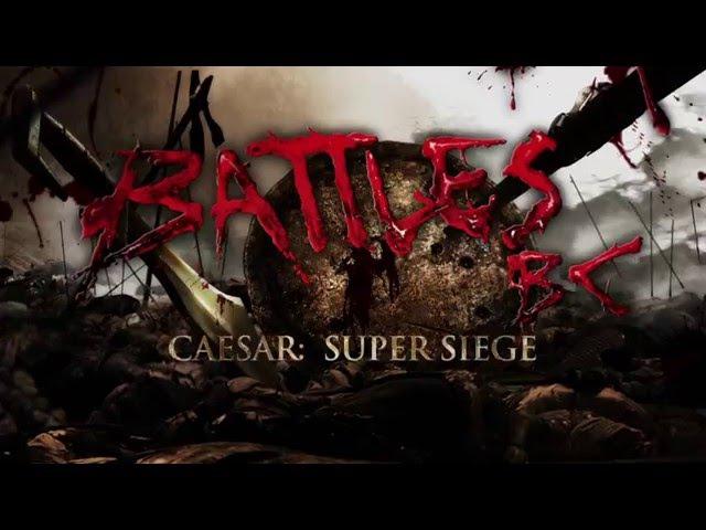 Величайшие сражения древности 4 серия из 8 Цезарь Великая осада