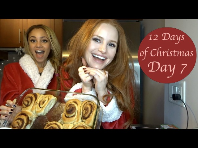 LOOPY HOLIDAY BAKING WITH RIVERDALE COSTAR VANESSA MORGAN  Madelaine Petsch