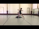Mitch Wynter and Claudia Hasting Contemporary Pas de Deux- Choreography by Martyn Fleming