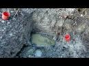 ML87 Раскопки советских блиндажей WW2 Soviet bunkers excavation HD