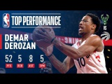 DeMar DeRozan, First Player in NBA History to Score 50+ on New Year's Day | January 1, 2018