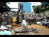 Daemo sorting grab DMR600 in scarp yard HeavyTech Limited Liability Company