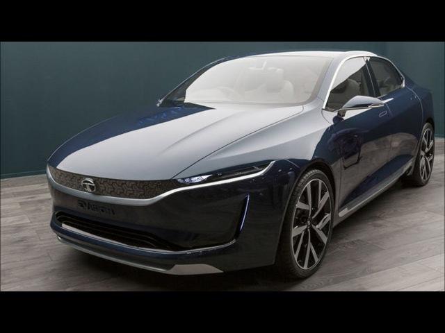 Роскошный Индийский Электроседан Tata E-Vision 2020