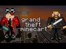 GTA в Minecraft 1 - Евгеха позвал поиграть с Уткой