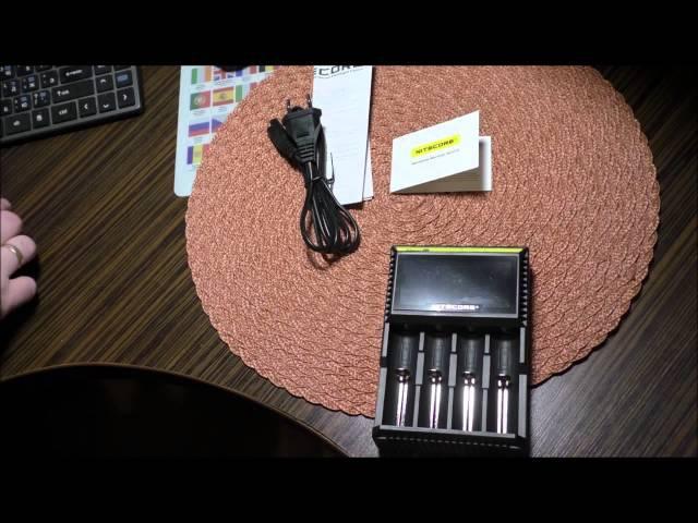 Nitecore Digicharger D4 зарядное устройство из Китая. Распаковка посылки.