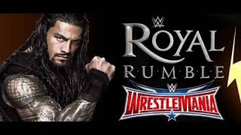 ROMAN REIGNS SURPRISE 30 MAN | WWE ROYAL RUMBLE 2017