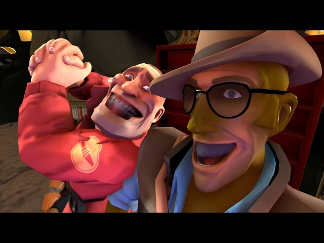 [SFM] Tinker Tailor's Soldier-Spy (Soldier's Dispenser Collab Entry)