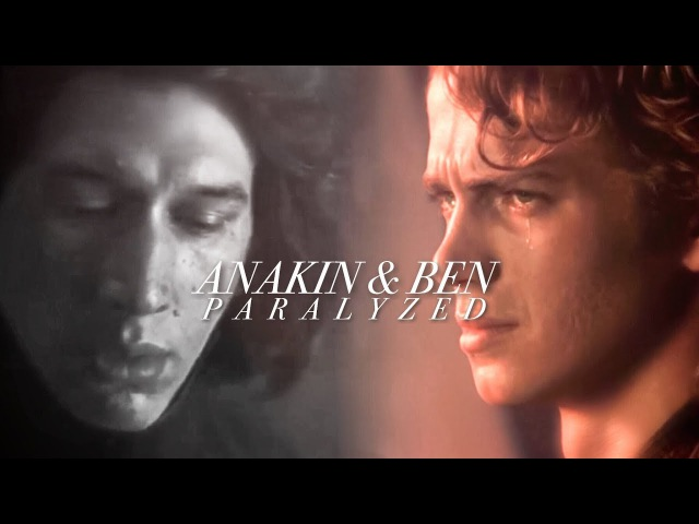 Anakin Skywalker and Ben Solo: Paralyzed (tlj spoilers)