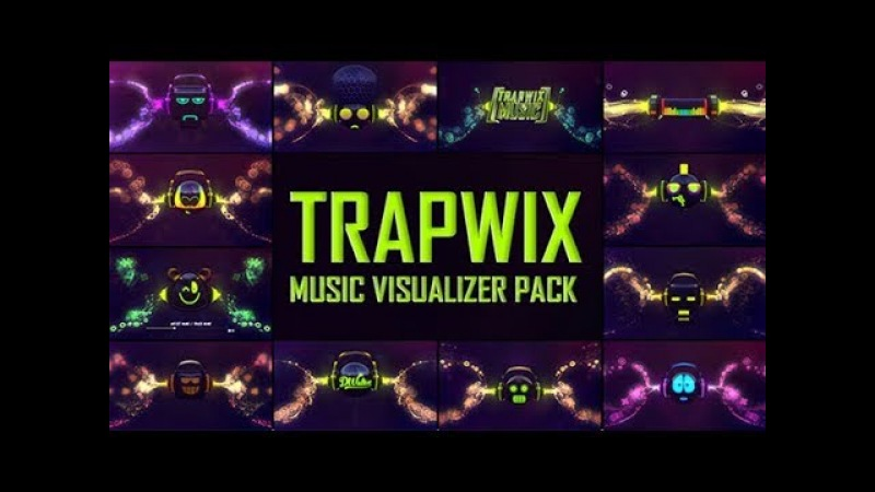Music Visualizer Pack | TrapWix | After Effects Template 2018 | Electro Music