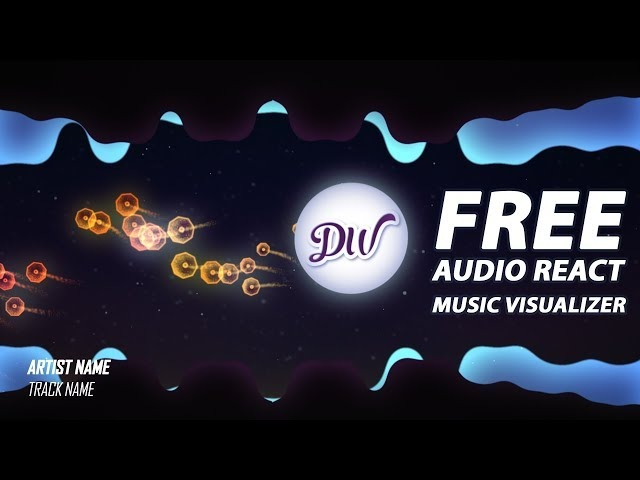 FREE After Effects Template 2018 | Audio React Music Visualizer | TrapWix Arcade