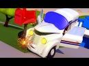 ПОЧТОВЫЙ АВТОМОБИЛЬ Питер заснул на дороге - Эвакуатор Том в Автомобильный Город детский мультфильм
