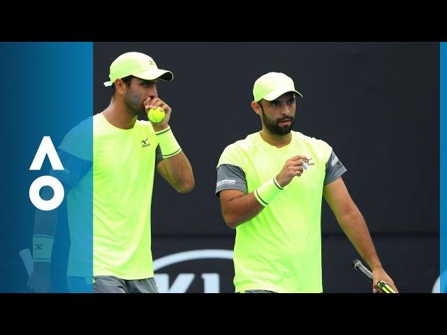 Cabal/Farah v Groth/Hewitt match highlights (QF) | Australian Open 2018