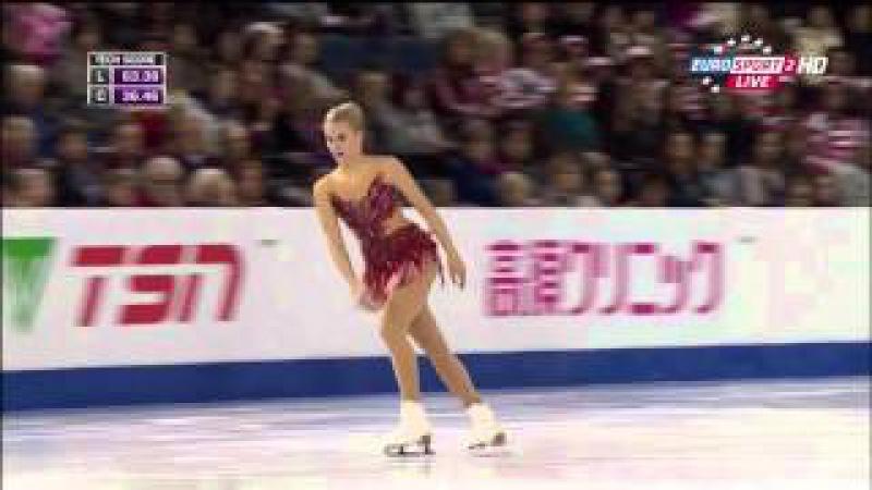 2015 Skate Canada FS Isabelle OLSSON