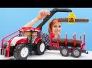 Трактор Брудер и Маша - Видео про машинки - Волшебная коробка 18
