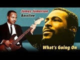 Motown Bass Line (James Jamerson) - What's Going On - with score, tab and play along
