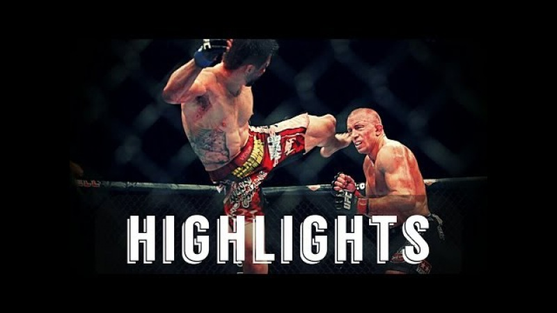 Georges St-Pierre vs Carlos Condit ● Fight Highlights ● HD