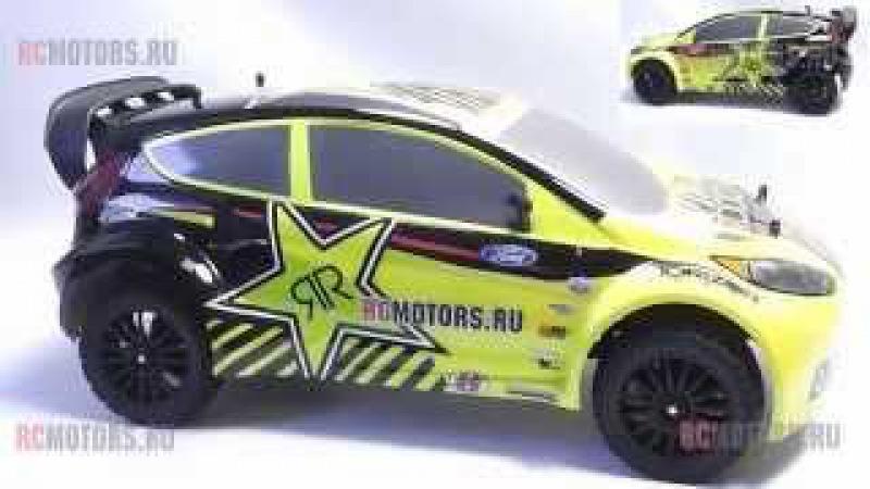 Видео обзор модели Vaterra Rallycross Ford Fiesta от RCMOTORS.RU