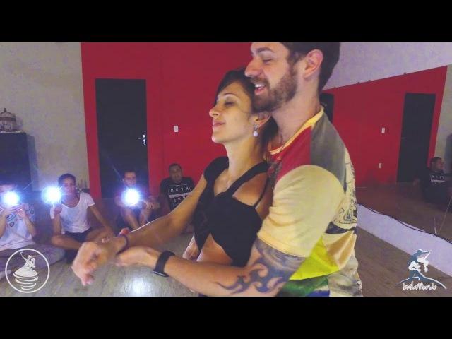 Baila Mundo Anderson Mendes e Brenda Carvalho Workshop na Involvent