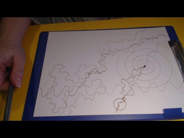 Нейрографика как правильно рисовать нейрографическую линию