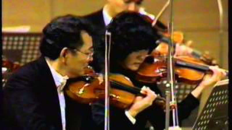 Bach Overture Suite No 3 in D major BWV 1068 II Air Conductor Seiji Ozawa