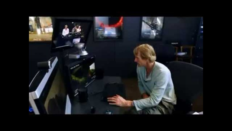 Post-production of 'Age of Extinction' - a Michael Bay film.