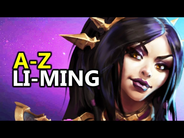 ♥ A - Z Li-Ming - Heroes of the Storm (HotS Gameplay)