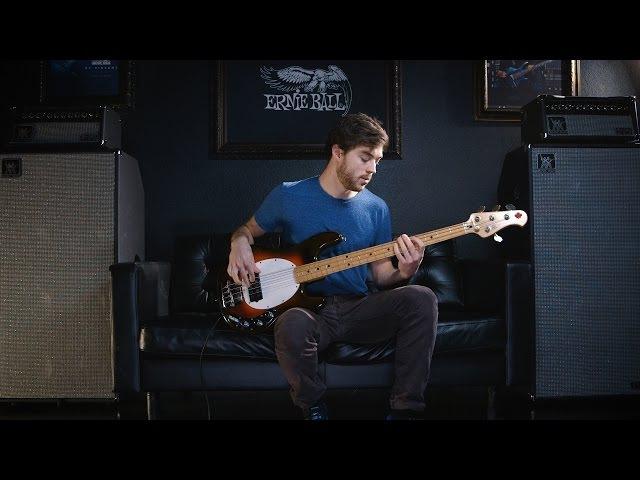 Ernie Ball Music Man StingRay Bass 26 Old Smoothie Joe Dart Grooves