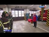 Пучков вручил медаль мужчине, спасшему семью из горящей квартиры
