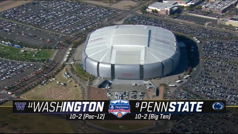 NCAAF 2017 / PlayStation Fiesta Bowl / (11) Washington Huskies - (9) Penn State Nittany Lions / 30.12.2017 / EN