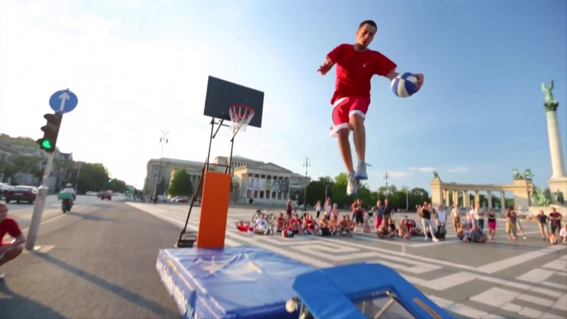 Slam Dunk Supertramp Style - Faceteam Basketball