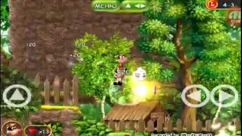Супер корова - Битва с боссом - Свином Бобом ( клон) и спасаем курицу Мэгги 4.