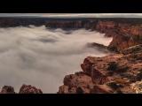 Большой Каньон, заполненный облаками