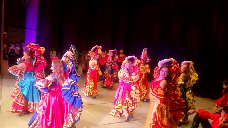 Ансамбль «Калына» - Цыганский танец. КГИК (бывший КГУКИ)