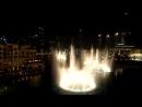Поющие фонтаны в Дубае в честь Уитни Хьюстон