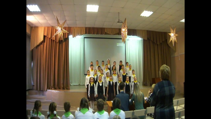 битва хоров 3 А класс МБОУ СОШ N45