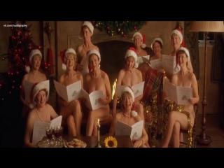 Хелен Миррен, Джули Уолтерс, Пенелопа Уилтон, Селия Имри, Линда Бэссет - Девочки из календаря (Calendar Girls, 2003) 1080p