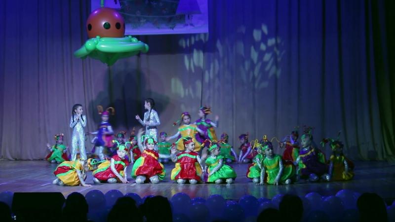 Детская танцевальная студия «Красная Звезда».