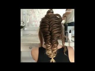 Эффектная коса